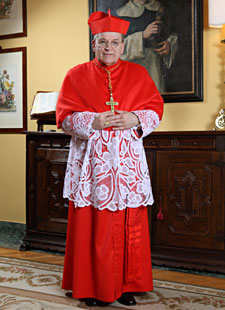 His Eminence, Raymond Leo Cardinal Burke, D.D., J.C.D., Patron of the Sovereign Order of the Knights of Malta